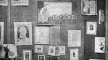 Display of Decadent Books