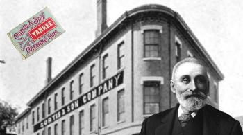 FIRST BRICK CHEWING GUM FACTORY BUILT IN THE UNITED STATES