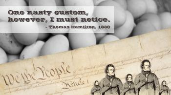 Thomas Hamilton, Men and Manners in America, 1833