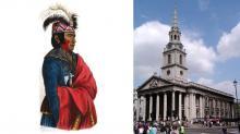 Ojibway Man in London, 1844